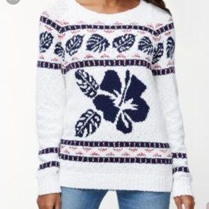 Tommy Bahama Tropical Fairisle Cotton Sweater